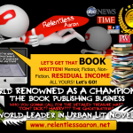 A World Leader in Urban Book Writing, Publishing & Marketing