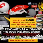 A World Leader in Urban Book Writing, Publishing & Marketing