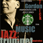 JULY 23RD @STARBUCKS OF CONYERS – THE GORDON VERNICK TRIO