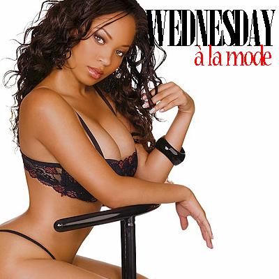Wednesday à la mode