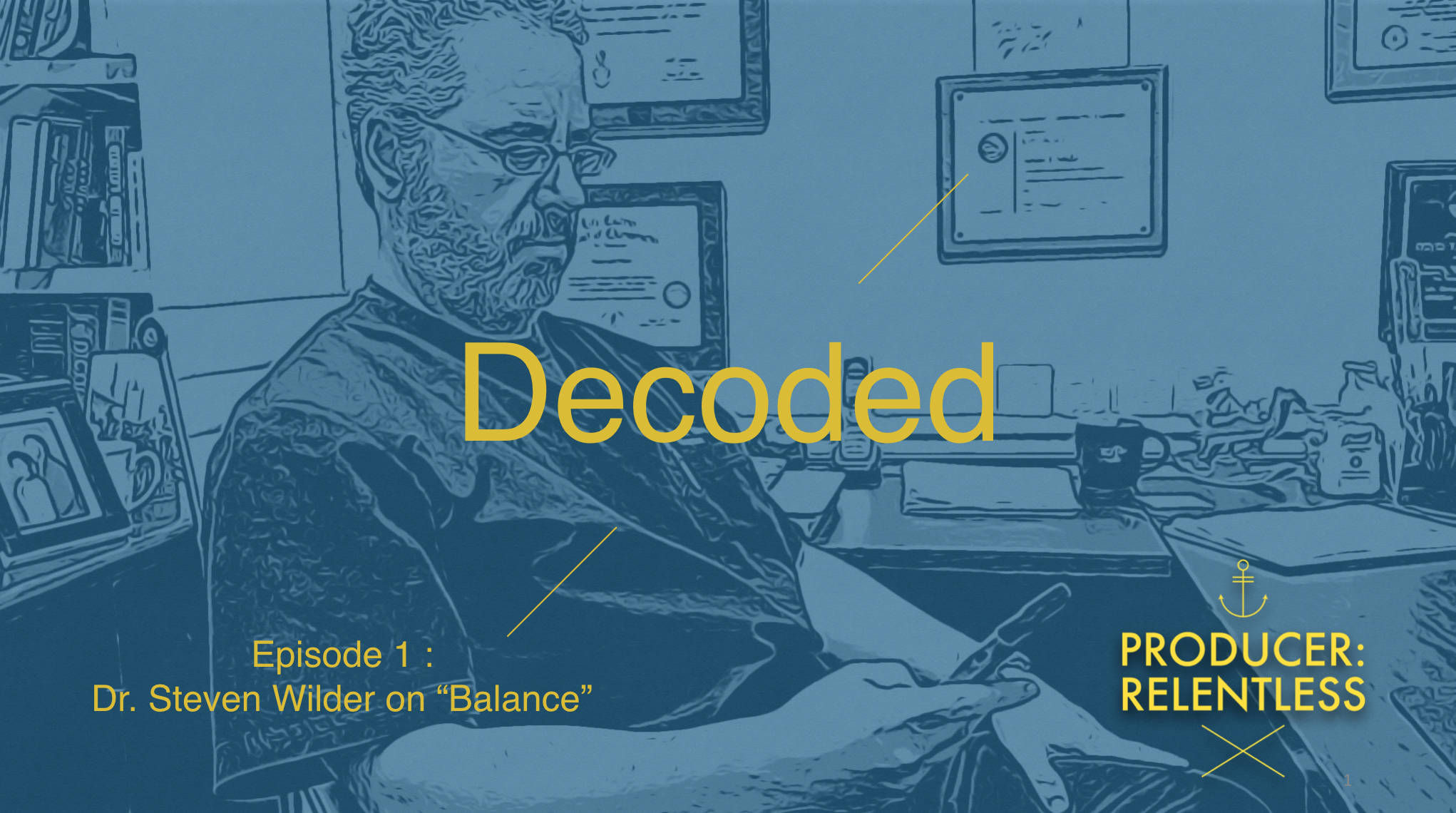 "Starting A New Web Series (Along with all else I do) ""Decoded"""