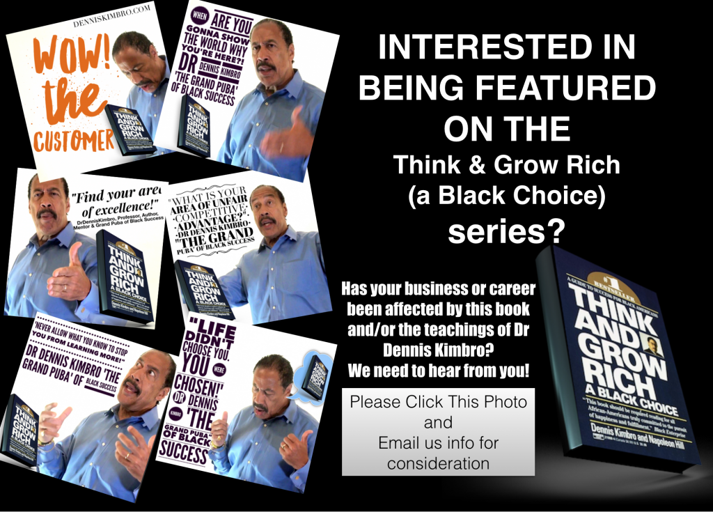 think and grow rich black info email web series