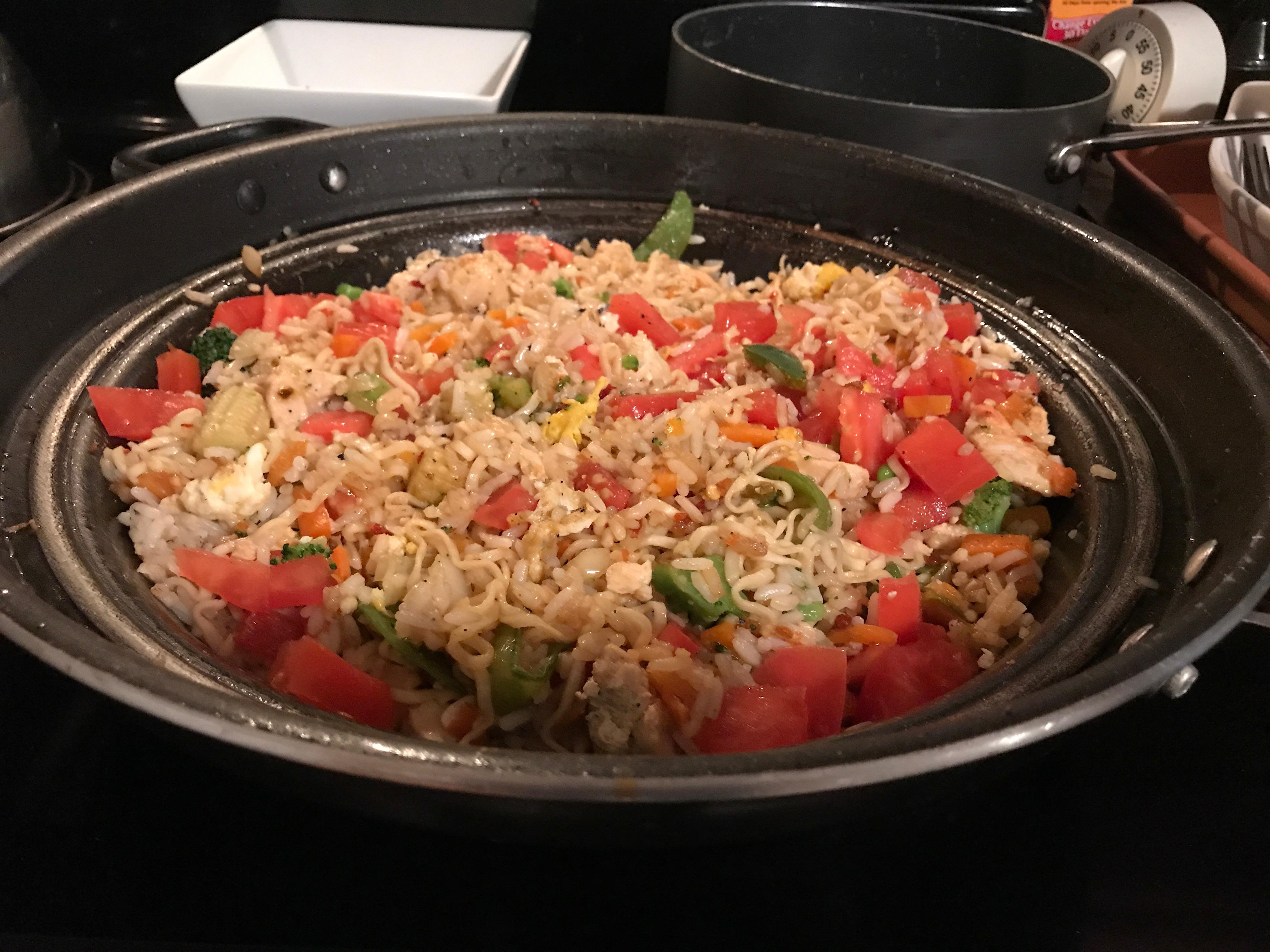 Making My Award-Winning Chicken Fried Rice