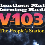 RELENTLESS GOES H.A.M. on V-103 Frank & Wanda Show