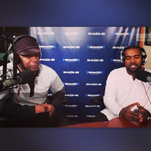 kanye west on the sway radio show