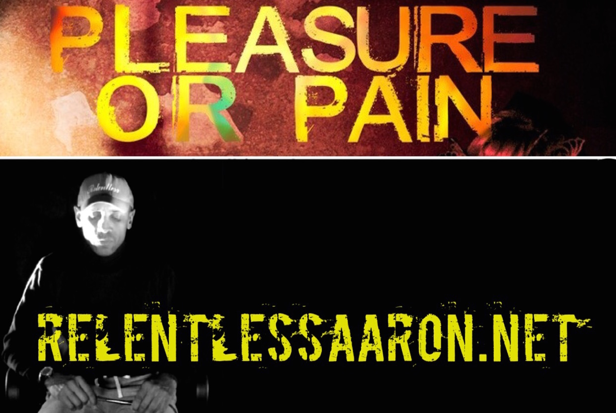commentary relentless aaron peace and progress pleasure pain author urban lit