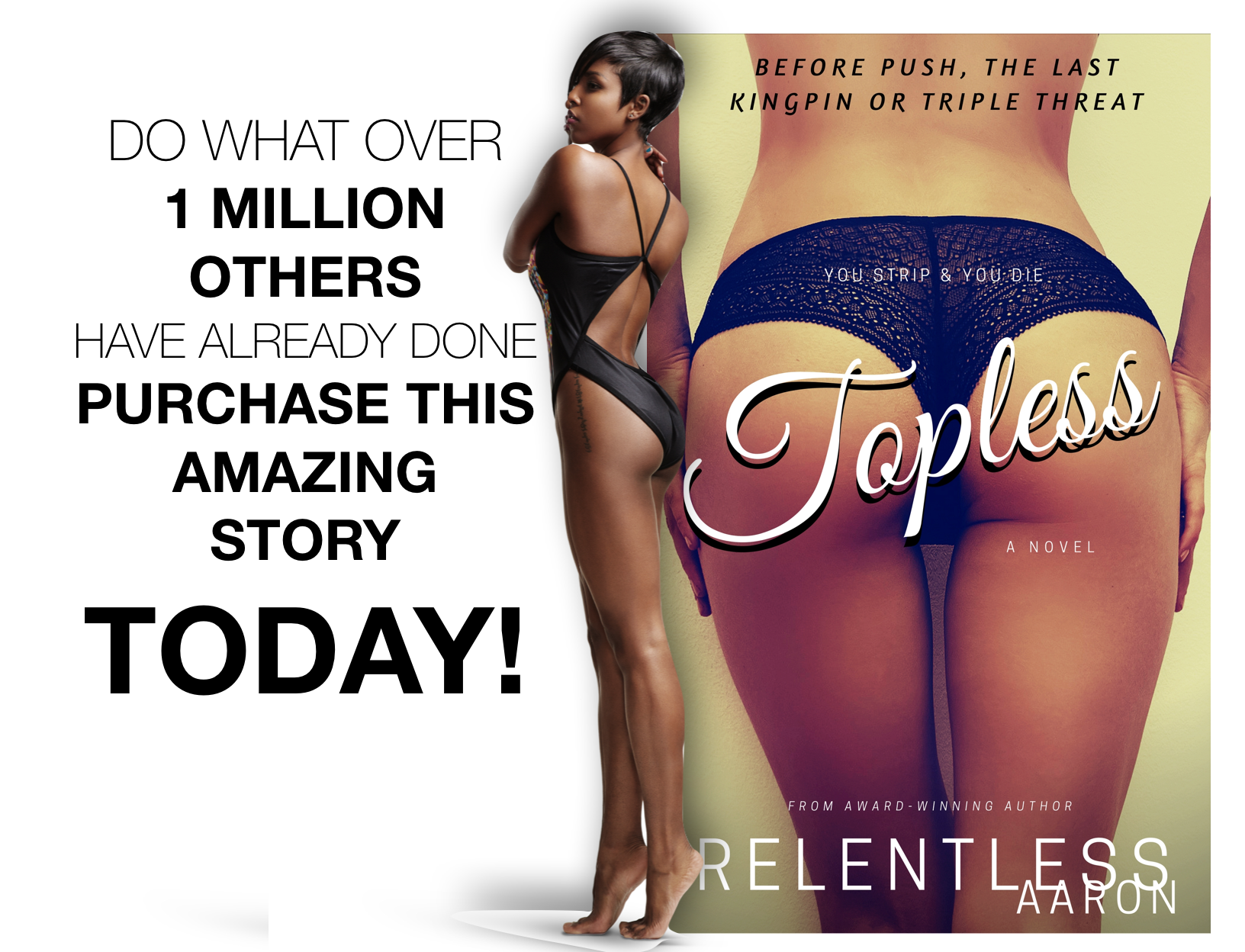 topless by relentless murder mystery thriller urban lit