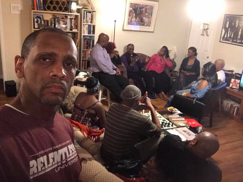 Superstar actor Keith David visits The Relentless House